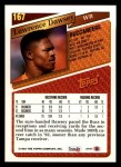 1993 Topps #167  Lawrence Dawsey  Back Thumbnail