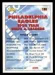 1993 Topps #180   -  Randall Cunningham Eagles Leaders Back Thumbnail