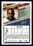 1993 Topps #260  Robert Blackmon  Back Thumbnail