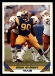 1993 Topps #257  Sean Gilbert  Front Thumbnail