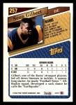 1993 Topps #257  Sean Gilbert  Back Thumbnail
