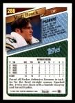 1993 Topps #286  Matt Brock  Back Thumbnail