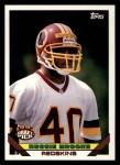 1993 Topps #204  Reggie Brooks  Front Thumbnail