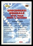 1993 Topps #262   -  Harold Green Bengals Leaders Back Thumbnail