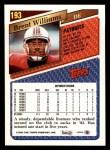 1993 Topps #193  Brent Williams  Back Thumbnail