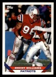 1993 Topps #193  Brent Williams  Front Thumbnail