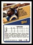 1993 Topps #188  Todd Lyght  Back Thumbnail