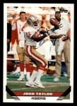 1993 Topps #248  John Taylor  Front Thumbnail