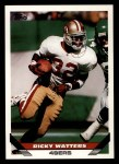 1993 Topps #281  Ricky Watters  Front Thumbnail
