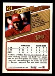 1993 Topps #281  Ricky Watters  Back Thumbnail