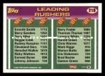 1993 Topps #219  Emmitt Smith / Barry Foster  Back Thumbnail
