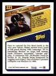 1993 Topps #223  Eric Moten  Back Thumbnail