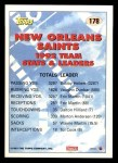 1993 Topps #178   -  Vaughan Johnson Rams Leaders Back Thumbnail