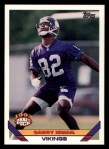 1993 Topps #448  Qadry Ismail  Front Thumbnail