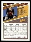 1993 Topps #368  Jeff Graham  Back Thumbnail