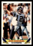 1993 Topps #444  Stan Humphries  Front Thumbnail