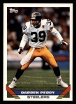 1993 Topps #399  Darren Perry  Front Thumbnail