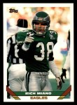 1993 Topps #366  Rich Miano  Front Thumbnail