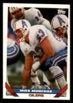 1993 Topps #338  Mike Munchak  Front Thumbnail
