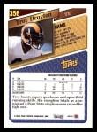 1993 Topps #356  Troy Drayton  Back Thumbnail