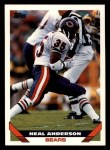 1993 Topps #432  Neal Anderson  Front Thumbnail