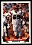 1993 Topps #358  Tim Krumrie  Front Thumbnail