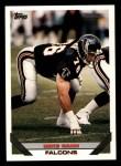 1993 Topps #425  Mike Gann  Front Thumbnail