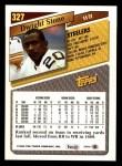 1993 Topps #327  Dwight Stone  Back Thumbnail