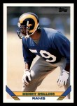 1993 Topps #584  Henry Rolling  Front Thumbnail