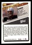 1993 Topps #568  Don Mosebar  Back Thumbnail