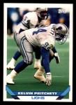 1993 Topps #503  Kelvin Pritchett  Front Thumbnail