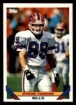 1993 Topps #459  Steve Tasker  Front Thumbnail