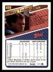 1993 Topps #459  Steve Tasker  Back Thumbnail