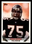 1993 Topps #548  Chris Hinton  Front Thumbnail