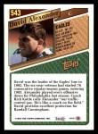 1993 Topps #543  David Alexander  Back Thumbnail