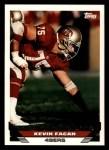 1993 Topps #464  Kevin Fagan  Front Thumbnail