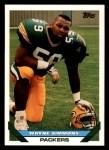 1993 Topps #469  Wayne Simmons  Front Thumbnail