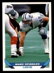 1993 Topps #588  Marc Spindler  Front Thumbnail