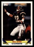 1993 Topps #598  Gill Byrd  Front Thumbnail