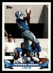 1993 Topps #453  Herman Moore  Front Thumbnail