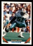 1993 Topps #552  Bryan Cox  Front Thumbnail