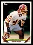 1993 Topps #554  Reggie Brooks  Front Thumbnail