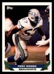 1993 Topps #517  Tony Woods  Front Thumbnail