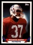 1993 Topps #631  Maurice Hurst  Front Thumbnail