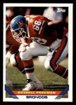 1993 Topps #542  Russell Freeman  Front Thumbnail