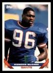 1993 Topps #452  Kanavis McGhee  Front Thumbnail