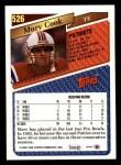 1993 Topps #526  Marv Cook  Back Thumbnail