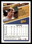 1993 Topps #455  Shane Conlan  Back Thumbnail
