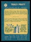 1969 O-Pee-Chee #111  Tracy Pratt  Back Thumbnail