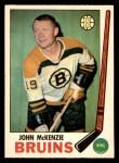 1969 O-Pee-Chee #28  John McKenzie  Front Thumbnail